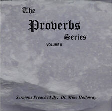 Proverbs Vol 2 KJV Preaching CD's by Dr. Mike Holloway