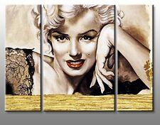 Quadro Moderno Cm 120x90 Stampa su Tela Canvas Quadri Moderni Marilyn Monroe