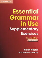 Cambridge ESSENTIAL GRAMMAR IN USE SUPPLEMENTARY EXERCISES w ANSWERS 2007 Ed NEW