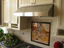 "30"" New! LED Lights Stainless Steel Under Cabinet Range Hood 032"