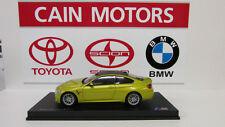 BMW M4 series F82    Austin Yellow Metallic 1/18th    Factory BMW Diecast