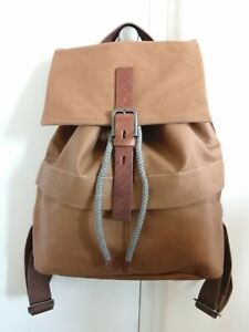 Brand New Ally Capellino JAMIE Small RUCKSACK BROWN Backpack RRP£159