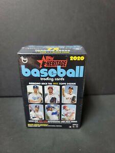 2020 TOPPS HERITAGE BASEBALL (1971 DESIGN) BLASTER BOX 72 CARDS NEW SEALED