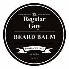 The Regular Guy Beard Balm - 2 Oz - Tame Your Beard With No Greasiness - Make It