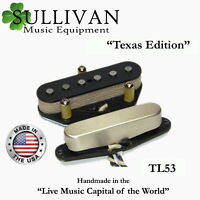 Custom Shop Telecaster Pickup Set A3 Texas Edition Hand Wound Tele SME TL53