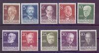 Berlin 1952 - Berühmte Männer MiNr. 91/100 postfrisch** - Michel 130,00 € (564)