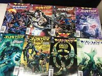 Justice League America lot of 8 Comics The New 52 Trinity War