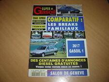 Super & Gasoil N° 10 Mercedes C 220 D.Breaks familiaux