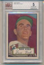 1952 Topps Dave Kolso (High Number Series) (#336) BVG5 BVG