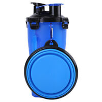 Cup Puppy Dog Cat Pet Water Bottle Drinking Travel Outdoor Portable Feeder