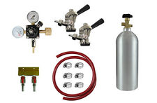 Kegerator Kit for 2 lines with CO2 tank