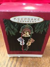 HALLMARK CHRISTMAS ORNAMENT in Box Curly 'n' Kingly Bell Ringers Lion Lamb