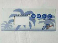 Overlay for La Spas Control Panel Gecko Harmony 2P-N Pl 39936