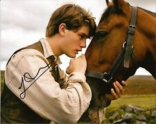 Hand Signed 8x10 photo JEREMY IRVINE in WAR HORSE - SPIELBERG + my COA