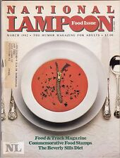 National Lampoon Humor Magazine March 1982 Mar National Lampoon Inc