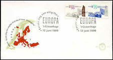 Netherlands 1990 Europa, Post Office Building FDC First Day Cover #C27964