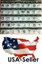 Self Adhesive Stickers For Auto 3D Emblem Badge Letters Numbers & Chrome Symbols