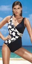P1L  NEW David Swimwear Tummy Control, Shaping Swimsuit Cossies US 14 UK size 16