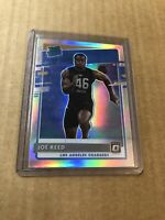 2020 Panini Donruss Joe Reed Optic Preview Holo Silver Prizm Rookie  RC