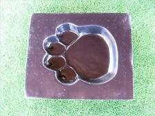 Paw Print Mould for Concrete Or Plaster - Garden, Yard