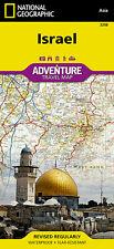 Israel Adventure Travel Map National Geographic Waterproof