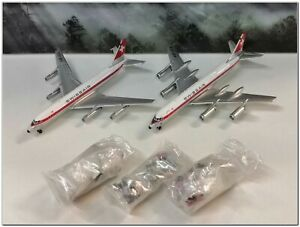 1/400 Aeroclassics ACSRSET Swissair CV-880/CV-990 & GSE HB-ICL, HB-ICA