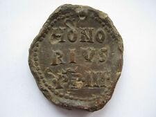 Pope Honorius III medieval lead Papal Bulla