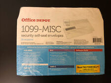 New listing Office Depot 1099-Misc Security Seal Envelopes 25 recipients 1 pack (25 total)