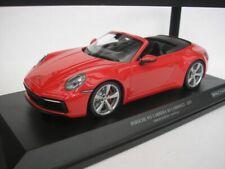 Porsche 911 Carrera 4S Convertible Red 1/18 minichamps 155067331 New