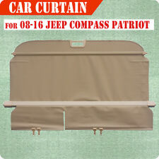 07-16 Jeep Compass Patriot Cargo Cover Retractable BGE Rear Truck Luggage Shade