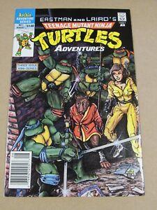 1988 TEENAGE MUTANT NINJA TURTLES ADVENTURES #1 NEWSSTAND VARIANT EASTMAN