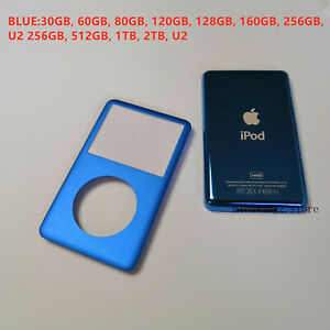 Blue Apple iPod Classic Front Cover +Blue Back Cover Thin+ Tools
