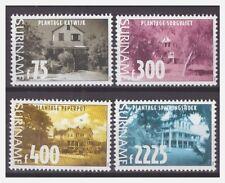 Surinam / Suriname 1999 Plantage huizen plantation houses gebaude maison MNH