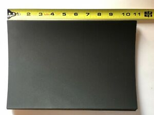 """Black Neoprene 1/4"""" thick Pad 10.75 x 7.562 with Peel-Back Adhesive, Mouse Pad"""