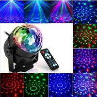 DJ Disco RGB Lamp Laser Ball Projector Effect Lighting Music Shows LED Light New