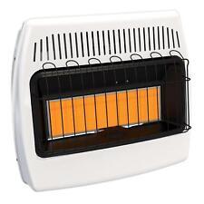 Propane Gas Wall Heater 30 000 BTU Blue Flame Vent Free Blue Natural Gas Heater