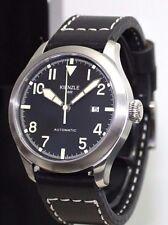 KIENZLE  Aerotool  Automatik  ETA  Herrenuhr Leder Armband  5 BarW.R.