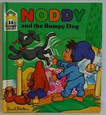 Noddy Library 14 Noddy and the Bumpy Dog Enid Blyton 1987 hb very cute pictures