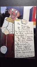 CPM CIRQUE TONY FRANK AU PROGRAMME..CE SOIR CIRQUE DE LA FAMILLE FURLANS 1989
