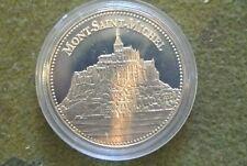 TRESOR du patrimoine (MONT SAINT MICHEL)  poids 31 gr diam 40 mm S/CAPSULE BU