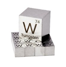 Tungsten Metal 10mm Density Cube 99.95% Pure for Element Collection USA SHIPPING