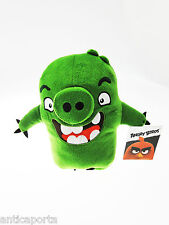 """With Tags Angry Birds The Movie 2016 Green Soft Plush Toy Gift 9"""""""