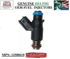2006-2011 Chevy Impala 3.5L V6 / Re-man 1pack Fuel Injector OEM Delphi #12588610