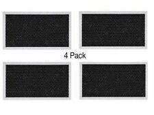 (4-PACK) GE COMPATIBLE RANGE HOOD CHARCOAL CARBON FILTER WB2X9883 JX81A CF2888