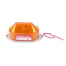 Warnleuchte Warnlichtsignal 12v hohe Helligkeit LED-Lampe Gelb 1 Stk