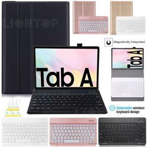 Bluetooth Kabellose Tastatur mit Hülle für Samsung Galaxy Tab A7 10.4' 2020 T500