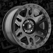 Fuel Recoil 17x8.5 6x5.5 ET7 Matte Black Wheels (Set of 4)