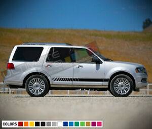 Stickers Decal for Lincoln Navigator Stripes lip side carbon bumper tune 4x4 bar