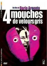 "DVD ""4 MOUCHES DE VELOURS GRIS""   Dario Argento  NEUF SOUS BLISTER"