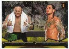 2016 Topps WWE Then Now Forever Rivalries NXT #11 Baron Corbin vs. Samoa Joe